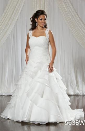 #5638 romantic bridal